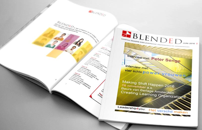 Blended 2:  Het Nederlandse onderwijs bruist van de ontwikkelingen.